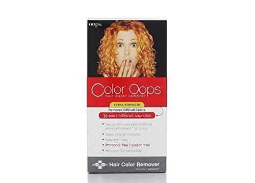 Color Oops Hair Color Remover Extra Strength 1 Application (Set of 2) by Developlus