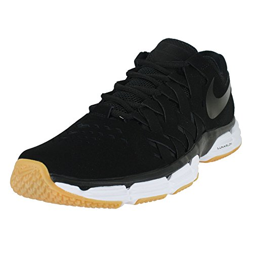 NIKE Mens Lunar Fingertrap TR Black Black Size (New Nike Sneakers)