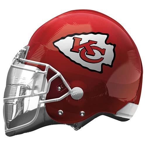 - Anagram 26304 NFL Kansas City Chiefs Football Helmet Foil Balloon, 21