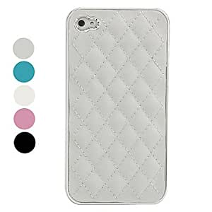 LZXProtective Lambskin Case for iPhone 4 / 4S , White