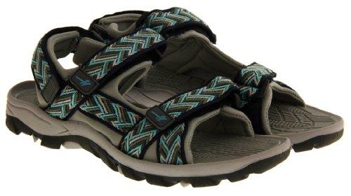 Footwear Studio - Sandalias deportivas para mujer - Navy Blue & Grey