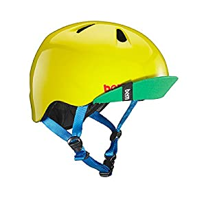 Bern Summer Children's Helmet, Jr. Nino Kids Sport Bike Helmet with Visor