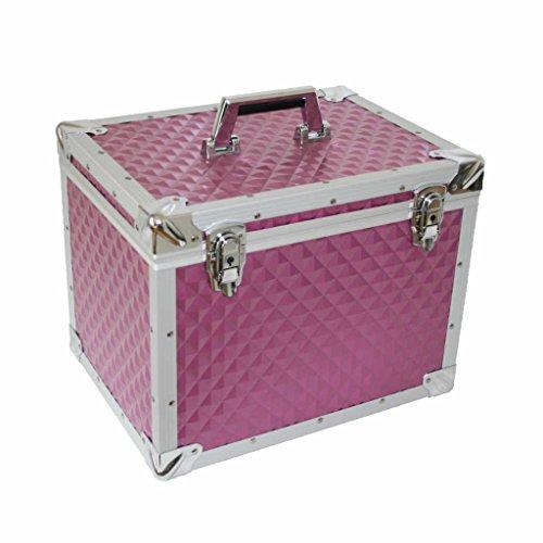 UNIQHORSE Alu Putzbox, Pferdeputzbox, Putzkiste für Pferde Pretty Pink UH 6080