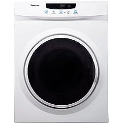 Magic Chef MCSDRY35W 3.5 cu. ft. Laundry Dryer, White