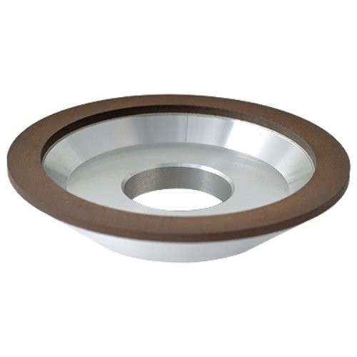 HHIP 2406-6375 6 x 1 x 3/8 x 1-1/4 Inch D12A2 Diamond Dish Wheel by HHIP