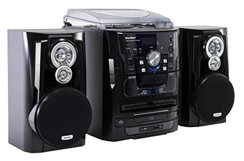 Karcher KA 350 Compact systeem (3-voudige CD-wisselaar, dubbel cassettedeck, platenspeler, USB, SD-kaartlezer, radio…