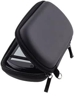 Negro EVA Funda Carcasa ZIP Cartera Bolsa Carcasa Bolsa Para Sony PSP Go: Amazon.es: Videojuegos