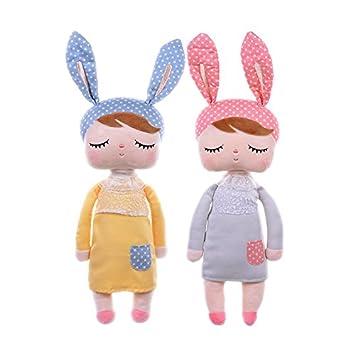MeToo de peluche de conejo para bebé 13 cm 2 piezas