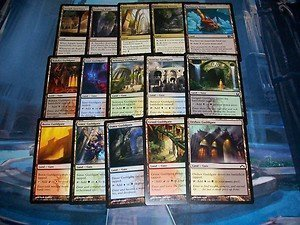 Land Magic Card (100 Magic the Gathering Non-Basic/Special Lands-- MTG Bulk Mixed Lot Collection)