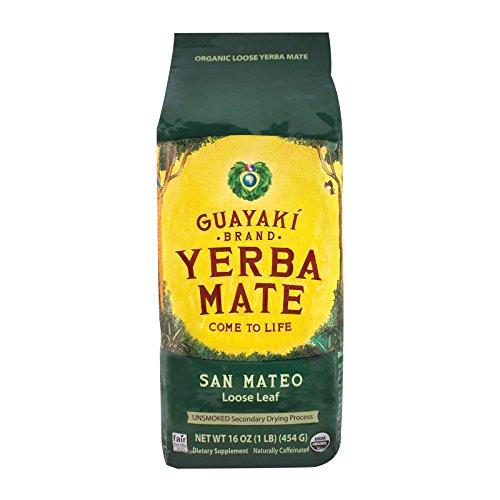 Guayaki Yerba Mate - San Mateo Air Dried - Loose Leaf - Case of 6 - 16 - Shopping San Mateo