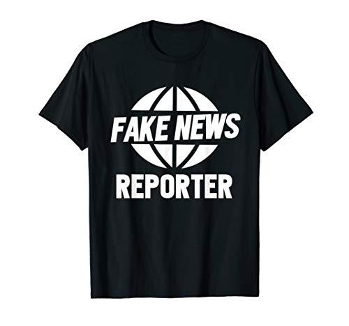 Fake News Reporter Funny Halloween Costume #fakenews ()