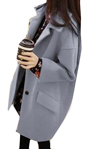 Woman Single Breasted Classic Coat - 8
