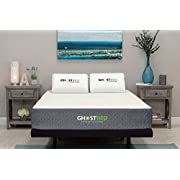 GhostBed Mattress-Twin XL 11 Inch-Cooling Gel Memory Foam-Mattress in a Box-Most Advanced Adaptive Gel Memory Foam-Coolest Mattress in America-Made in the USA-Industry Leading 20 Year Warranty