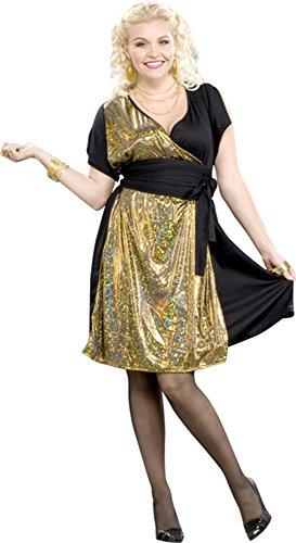Saturday Night Fever Plus Size Costumes (Woman's Plus Size Saturday Night Fever Costume Size: Woman's Plus)