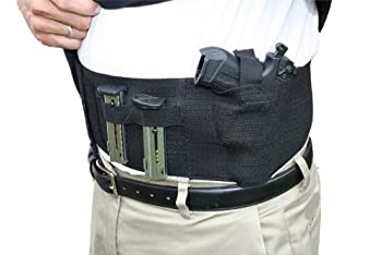 AlphaHolster Concealed Carry Belly Band Cross Draw Gun Holster
