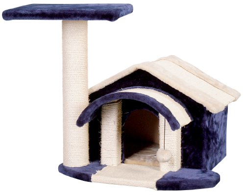 Whisker World Feline Townhouse Cat Furniture, Multi-colored, My Pet Supplies