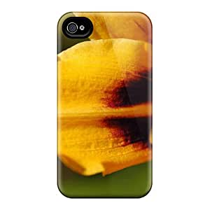 Slim Fit Tpu Protector Shock Absorbent Bumper 1080p Hd Flower Case For Iphone 4/4s