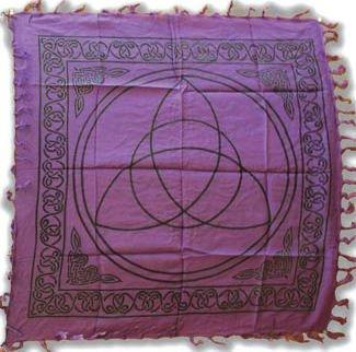 - Triquetra Charmed Altar Cloth - 36
