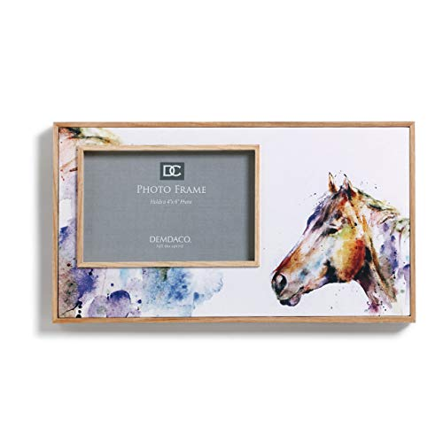 DEMDACO Good Lookin' Horse Photo 11.5 x 6.5 Canvas Picture Frame