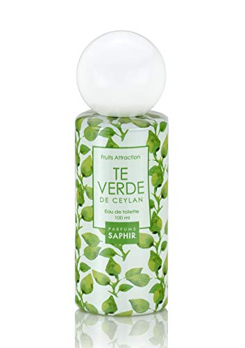 PARFUMS SAPHIR Fruit Attraction Te Verde Eau de Toilette para Mujeres - 100 ml