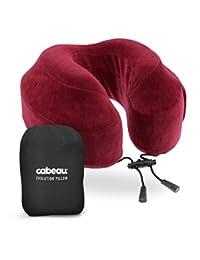 cabeau Evolution Memory Foam Travel Pillow–La mejor almohada de cuello con 360Head & Neck Support