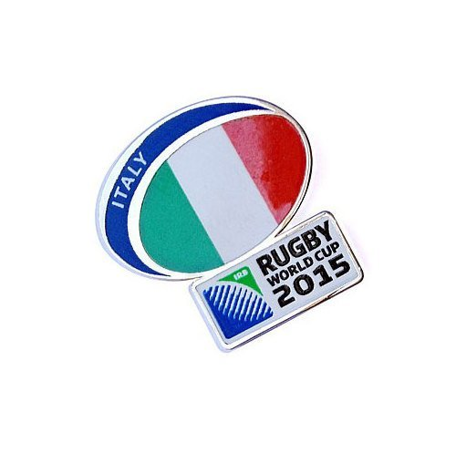 Italy Rugby World Cup 2015 Pin Badge by Rugby World Cup 2015 by Rugby World Cup 2015