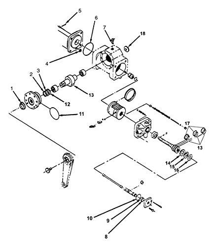Newstar M100 Master Steering Gear Kit S16201 Engine Kits
