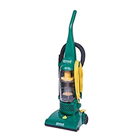 BISSELL BigGreen BGU1937T 13.5″ Pro Cup Bagless Upright Vacuum with On-Board Tools, 44″ Height, 13.5″ Wide, 13.2″ Length, Polypropylene, 2 fl. oz. Capacity, Green