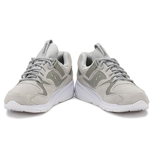 Saucony Mens Grey Grid 8500 HT Trainers Grey outlet how much QSwJ3X2Ac