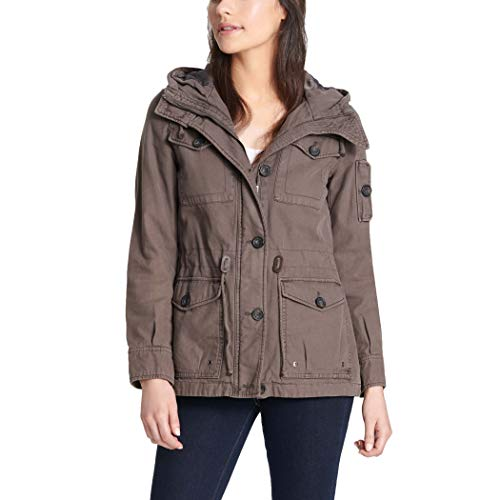 Levi's Women's Cotton Four Pocket Hooded Field Jacket (Standard and Plus)