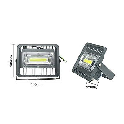30W Floodlight, 110V Cold White : Led Flood Light Reflector Searchlight Led Spotlight Outdoor Lighting Lamp Floodlight Chip 30W/50W/100W/150W IP66 Warm/Cold White