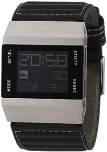 Quiksilver M141DL/BLK - Reloj de caballero de cuarzo, correa de piel color negro