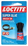 Best Glue For Leathers - Henkel Corp 852882 QuickTite Brush On Super Glue-1.8OZ Review