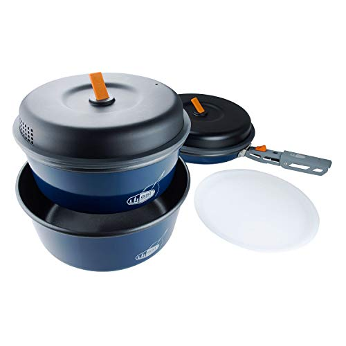 GSI Outdoors - Bugaboo Base Camper, Nesting Cook Set, Superior Backcountry Cookware Since 1985