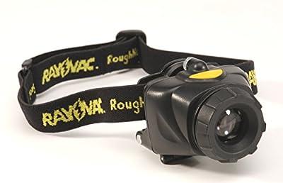 Rayovac RoughNeck 80 Lumen 3AA LED Headlight with Batteries (RNHL3AAA-B)