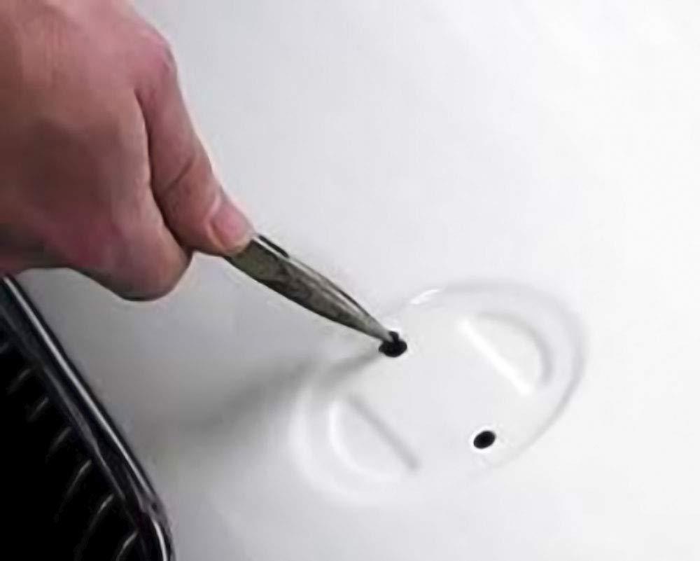 Rouge. Embl/ème pour capodastre Fibre de carbone incorpor/ée Embl/ème de 82mm deux dents
