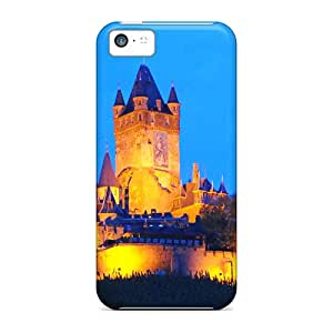 High Quality Shock Absorbing Case For Iphone 5c-castle Cochem