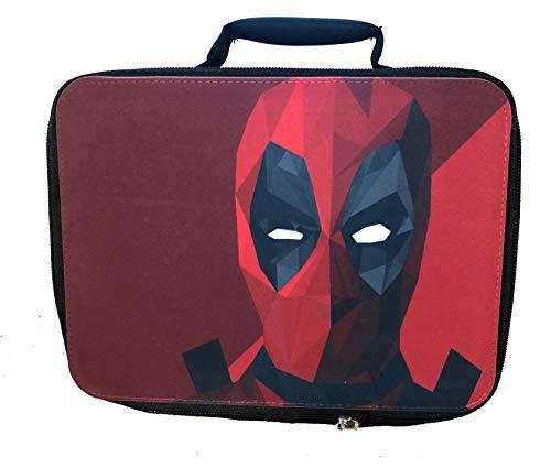 Polygon Comic Book Hero Design Canvas Lunch Bag by egeek amz