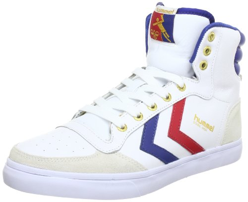 Hummel Stadil High - Zapatillas de bota para hombre Blanco