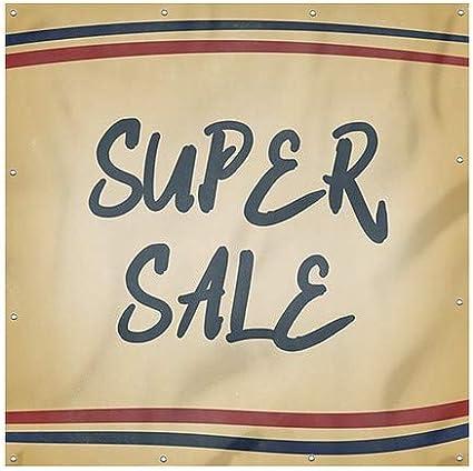 Nostalgia Stripes Heavy-Duty Outdoor Vinyl Banner 6x6 Super Sale CGSignLab