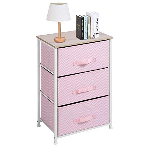 Aingoo Dresser Storage 3 Drawer Closet Organizer for Clothes Bedroom Entryway Table Bedside End Table H28.5