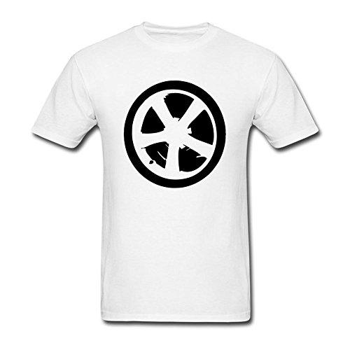 Timwood Men's Rims Short Sleeve T-Shirt XXX-Large White ()