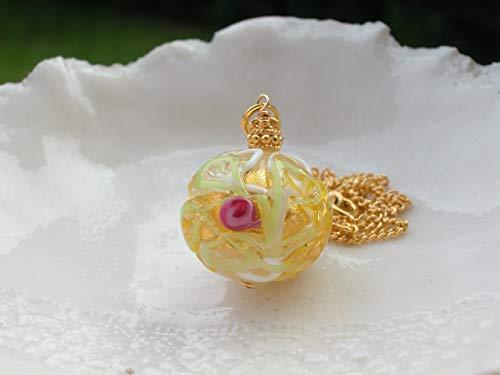 Drop Venetian Necklace - Exclusive Venetian Wedding Cake Necklace