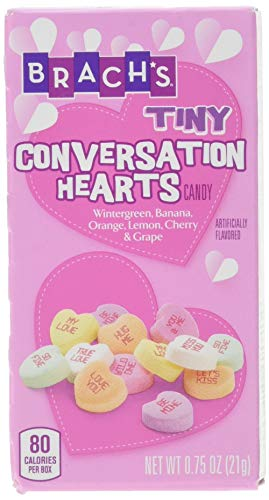 LIMITED TIME Brach's Tiny Conversation Hearts 5 Pack, 3.75 Oz. (1 Per -