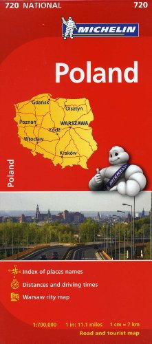 Michelin Poland Map 720 (Maps/Country (Michelin))