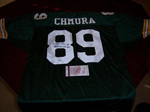 Uniform Champ (Mark Chmura Autographed Uniform - sb Champs coa - JSA Certified - Autographed NFL Jerseys)