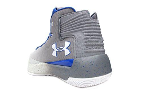 Under Armour Herren Curry 3 Basketballschuh Weiß / Blau-Grau