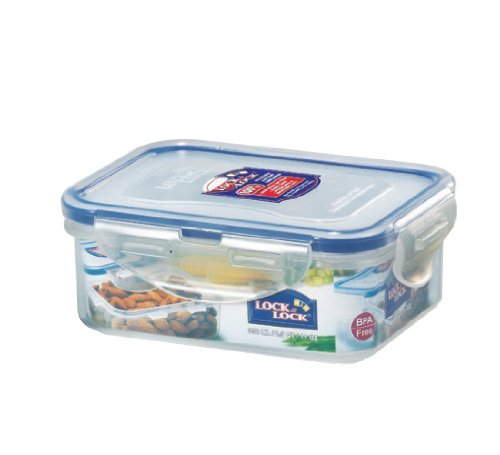 Lock&Lock 11.8-Fluid Ounce Rectangular Food Container, Short, 1-1/2-Cup (Lock And Lock Microwave compare prices)
