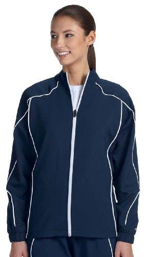 Russell Athletic Ladies' Team Prestige Full-Zip Jacket - NAVY/WHITE - 2XL