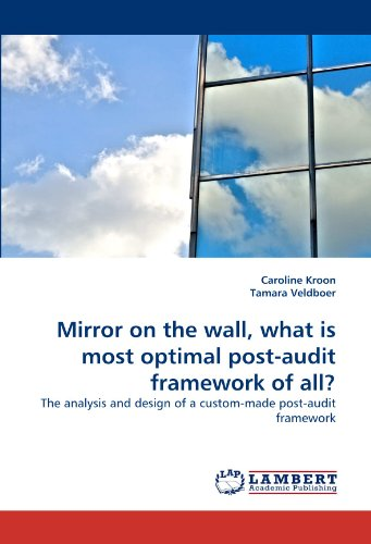 Mirror on the wall, what is most optimal post-audit framework of all?: The analysis and design of a custom-made post-aud